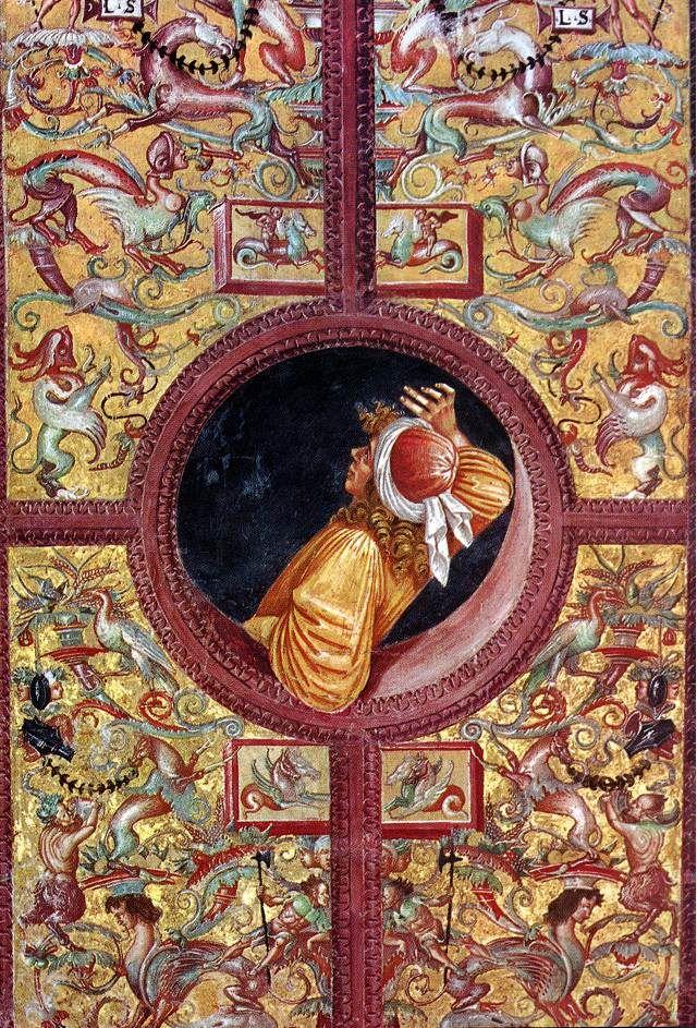 Empédocle scrutant l'Univers – Luca Signorelli – Orvieto Cappella Nuova