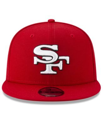 a09499e4130fba New Era Boys' San Francisco 49ers Logo Elements Collection 9FIFTY Snapback  Cap - Red Adjustable
