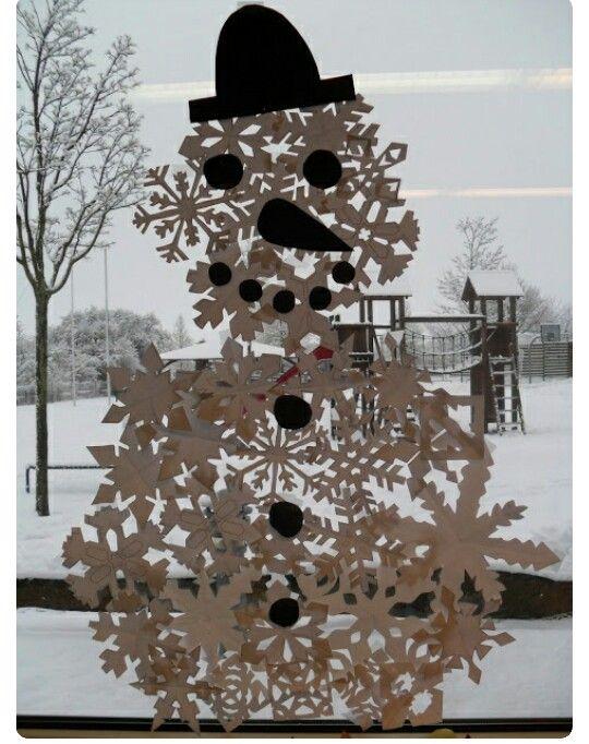 Winter winter - Fensterdeko weihnachten kinder ...