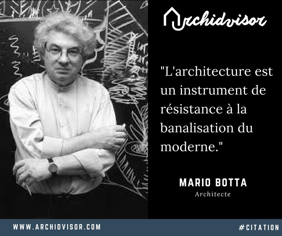 Citation De Mario Botta Citation Architecte Architecture