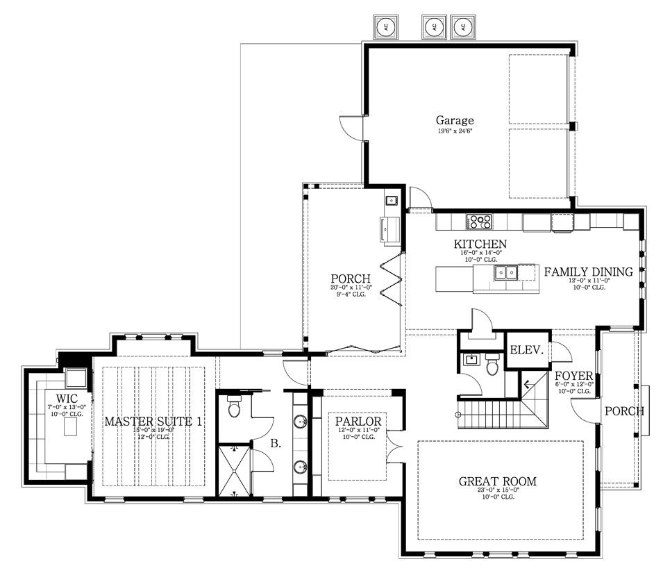 Featured House Plan BHG 9722