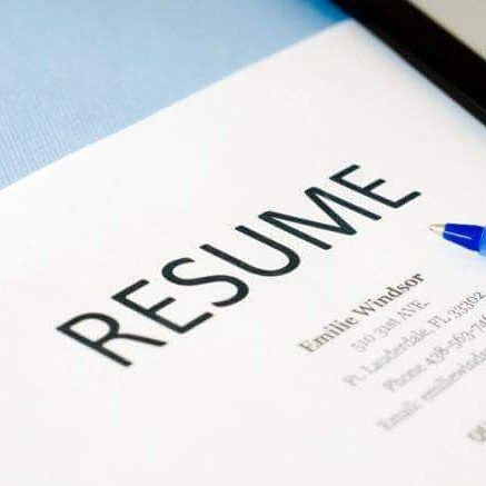Do not fax your resume