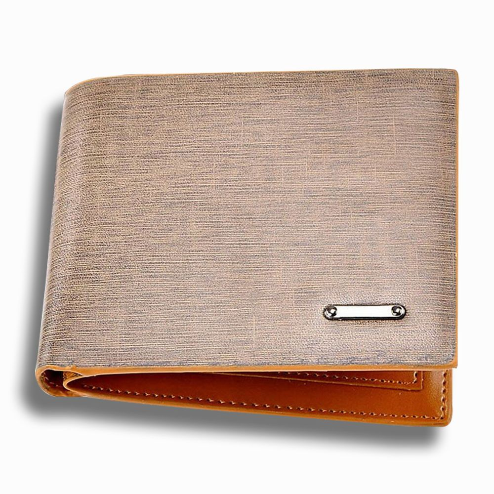 ece051838d11 Fashion Mens Leather Bifold Clutch Credit/ID Card Holder Wallet Coin ...
