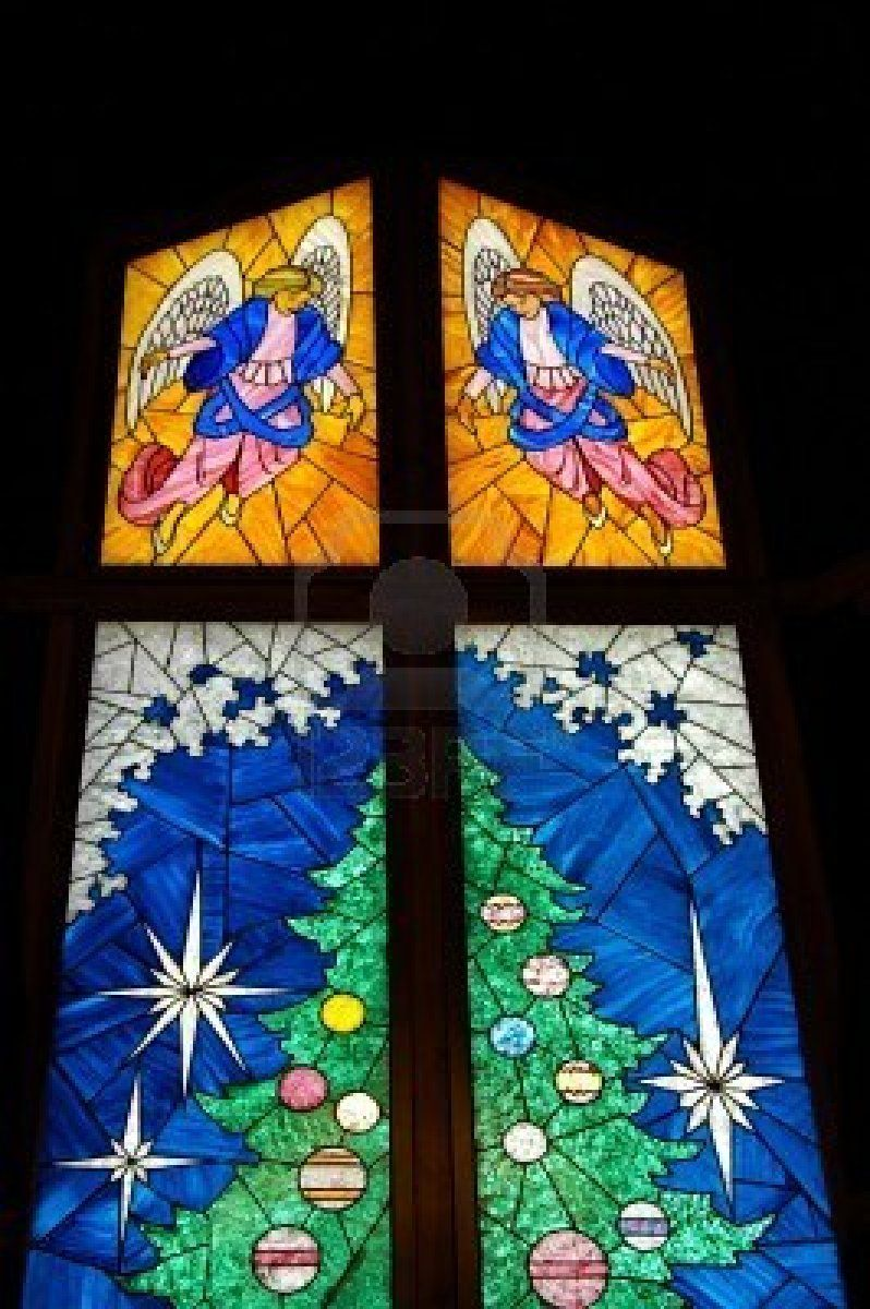 Stained Glass Christmas Tree | Lebendiger Adventskalender ...