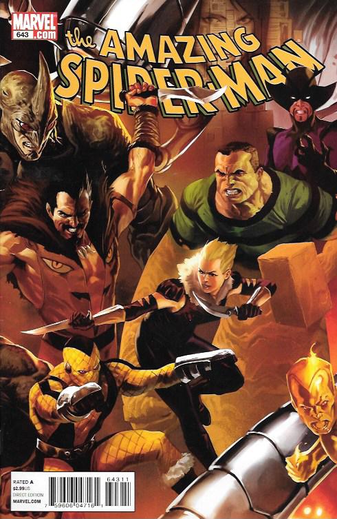 The Amazing Spider-Man # 643 Marvel Comics Vol 1