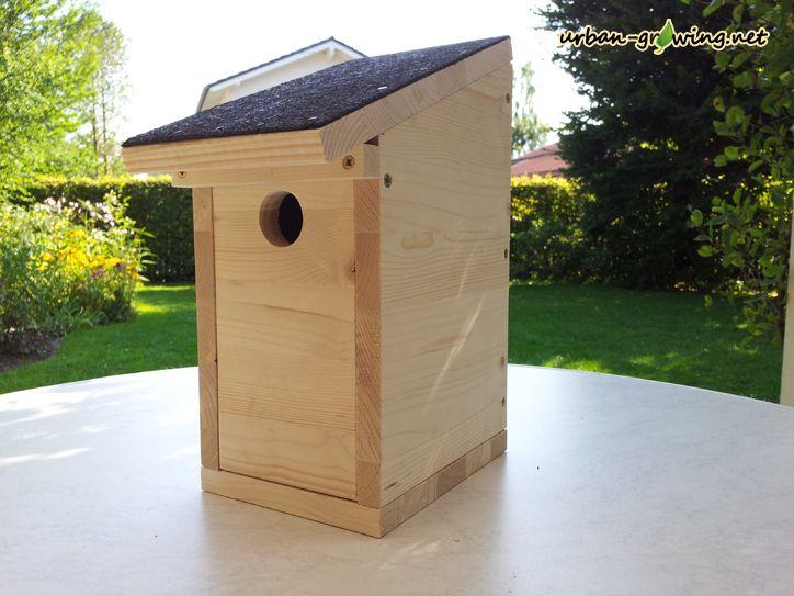 Schritt 20 fertigen nistkasten bewundern bird for Jardineria al aire libre casa pendiente