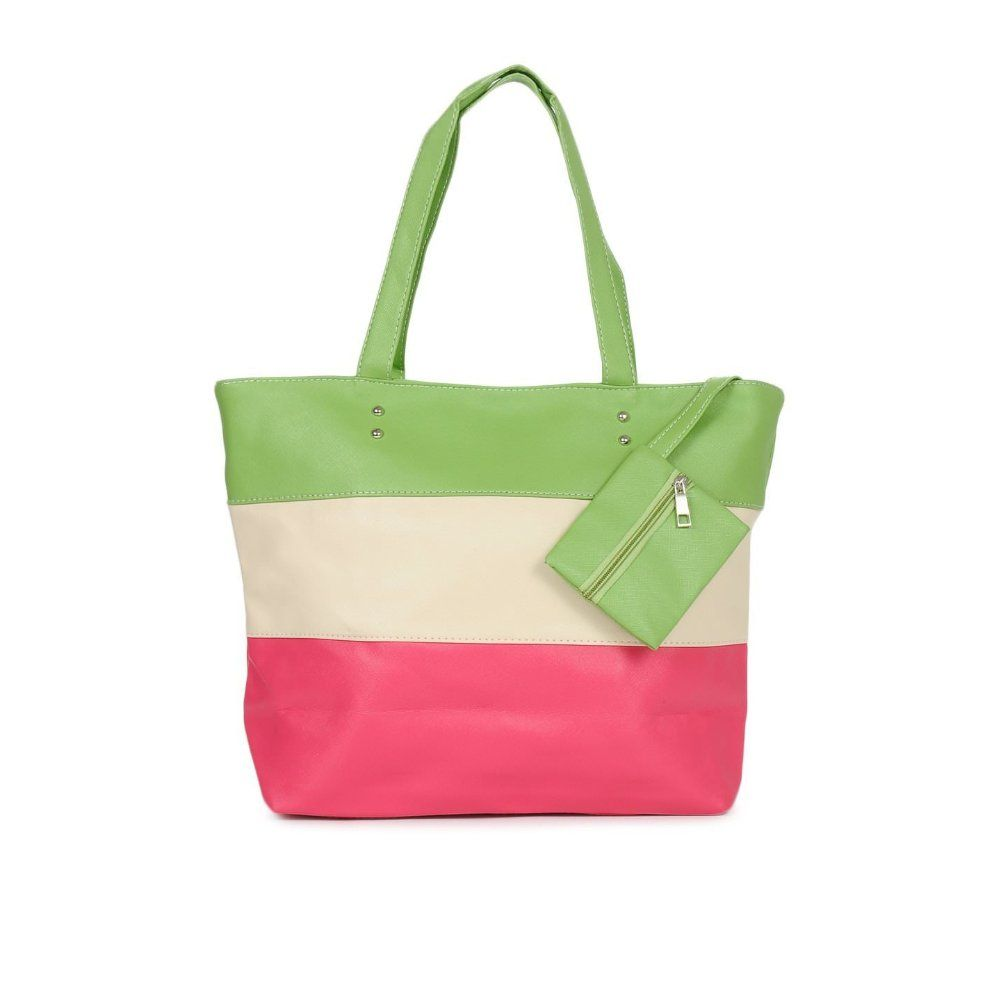 Tri-coloured Stripe #Handbag from Kiara