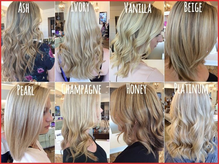 40 Inspirational Vanilla Champagne Hair Color Going Blonde