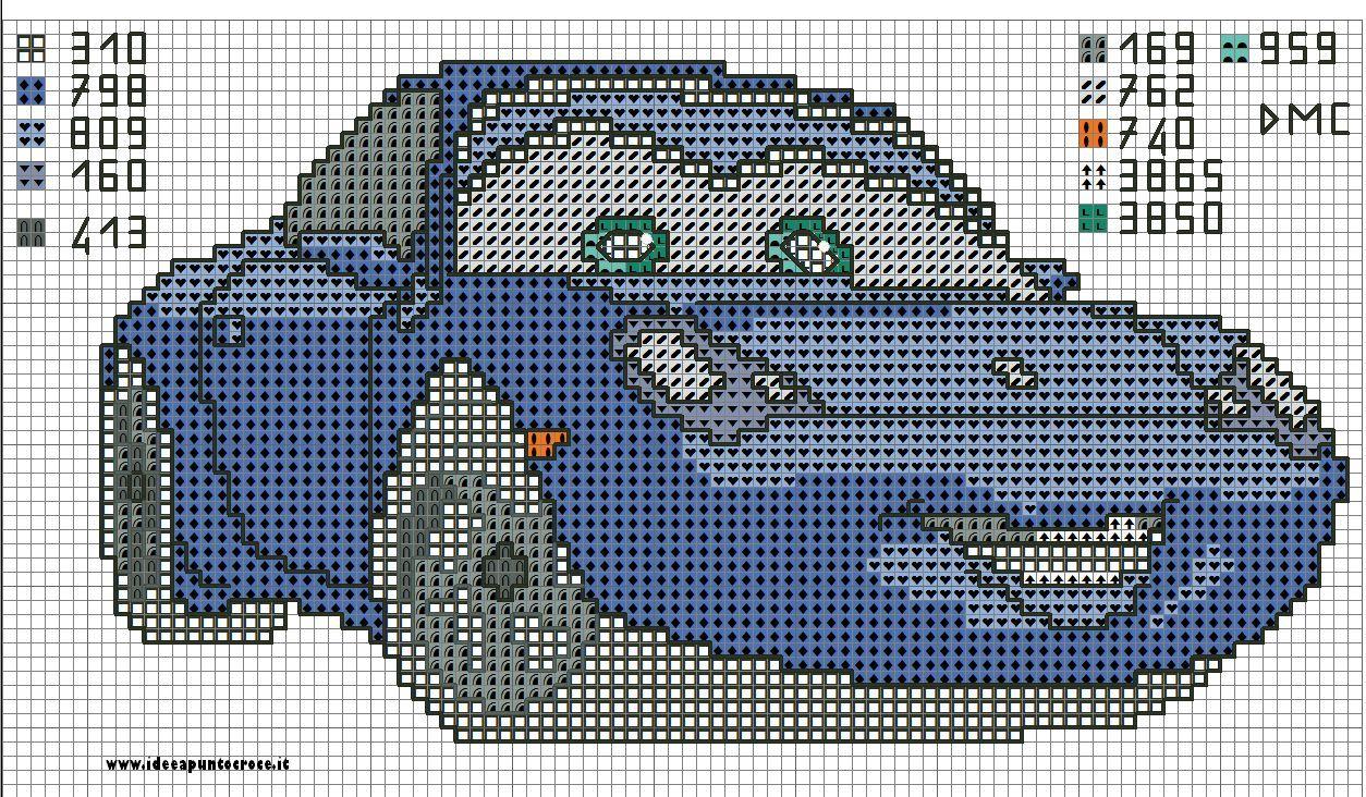 A Través De Lilla Szendro Schema Car Punto De Cruz Bebe Punto De Cruz Diseños De Punto De Cruz