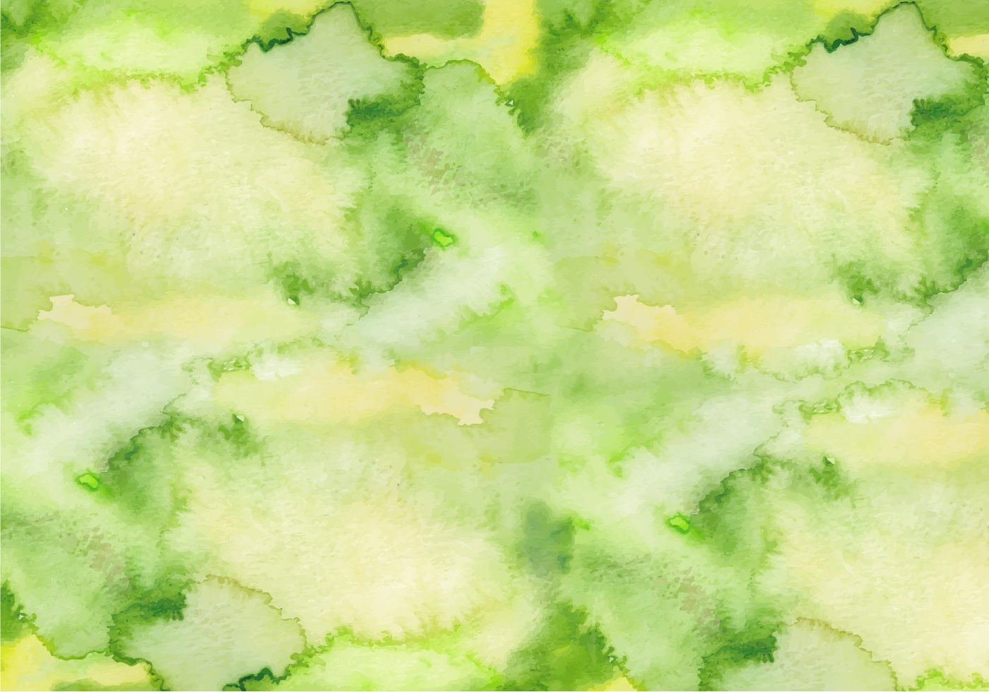 Green Watercolor Texture Green Hand Draw Aquarelle Background