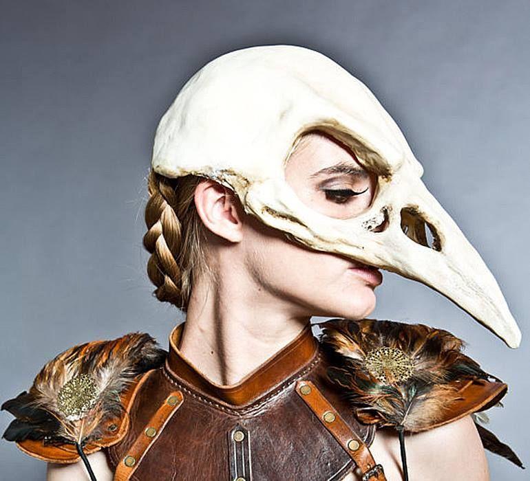 √ Bird Skull Helmet