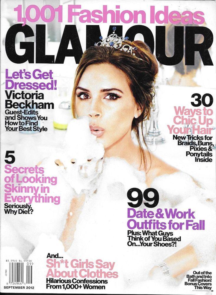 Glamour magazine victoria beckham lily collins jason