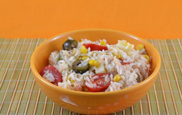 salade de riz au thon recettes weight watcher. Black Bedroom Furniture Sets. Home Design Ideas