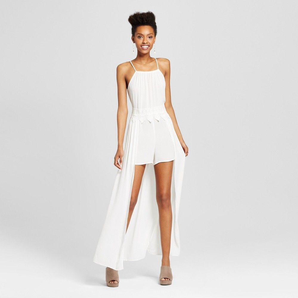 White Rompers for Juniors