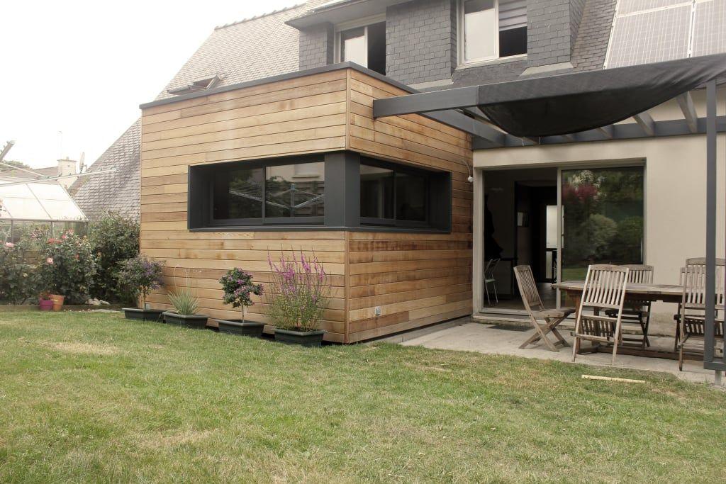 petit cube maisons de style par fabrick d 39 architecture. Black Bedroom Furniture Sets. Home Design Ideas