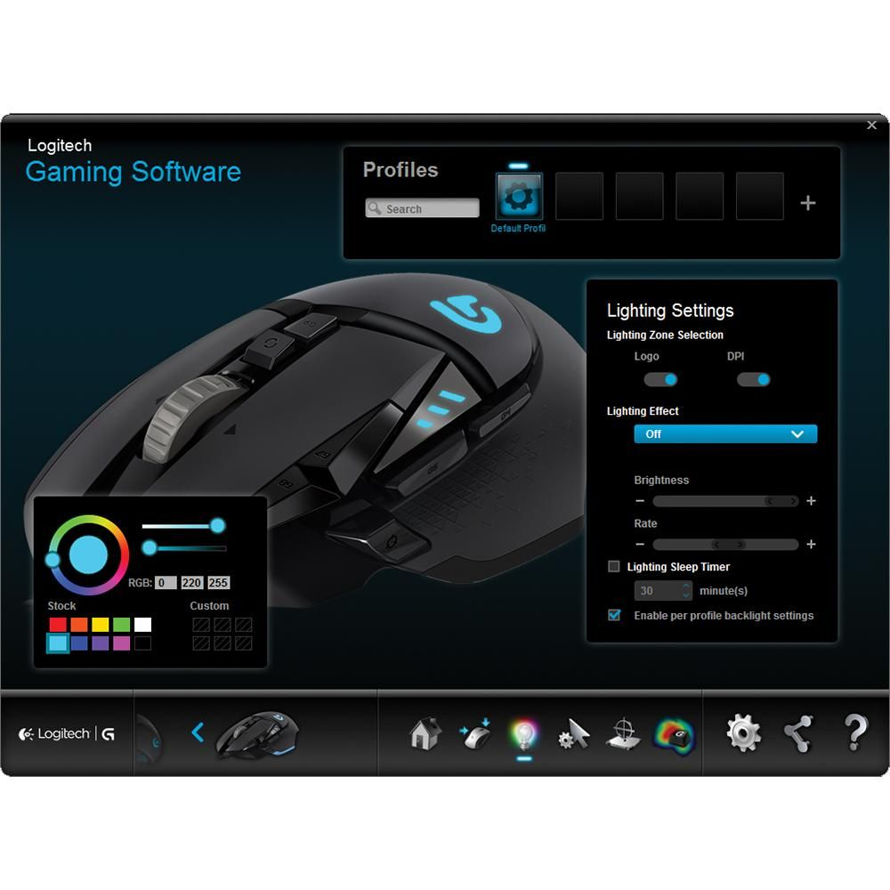 ae77dbd8963 Logitech G502 Proteus Spectrum RGB Tunable Gaming Mouse: Amazon.ca:  Computers & Tablets