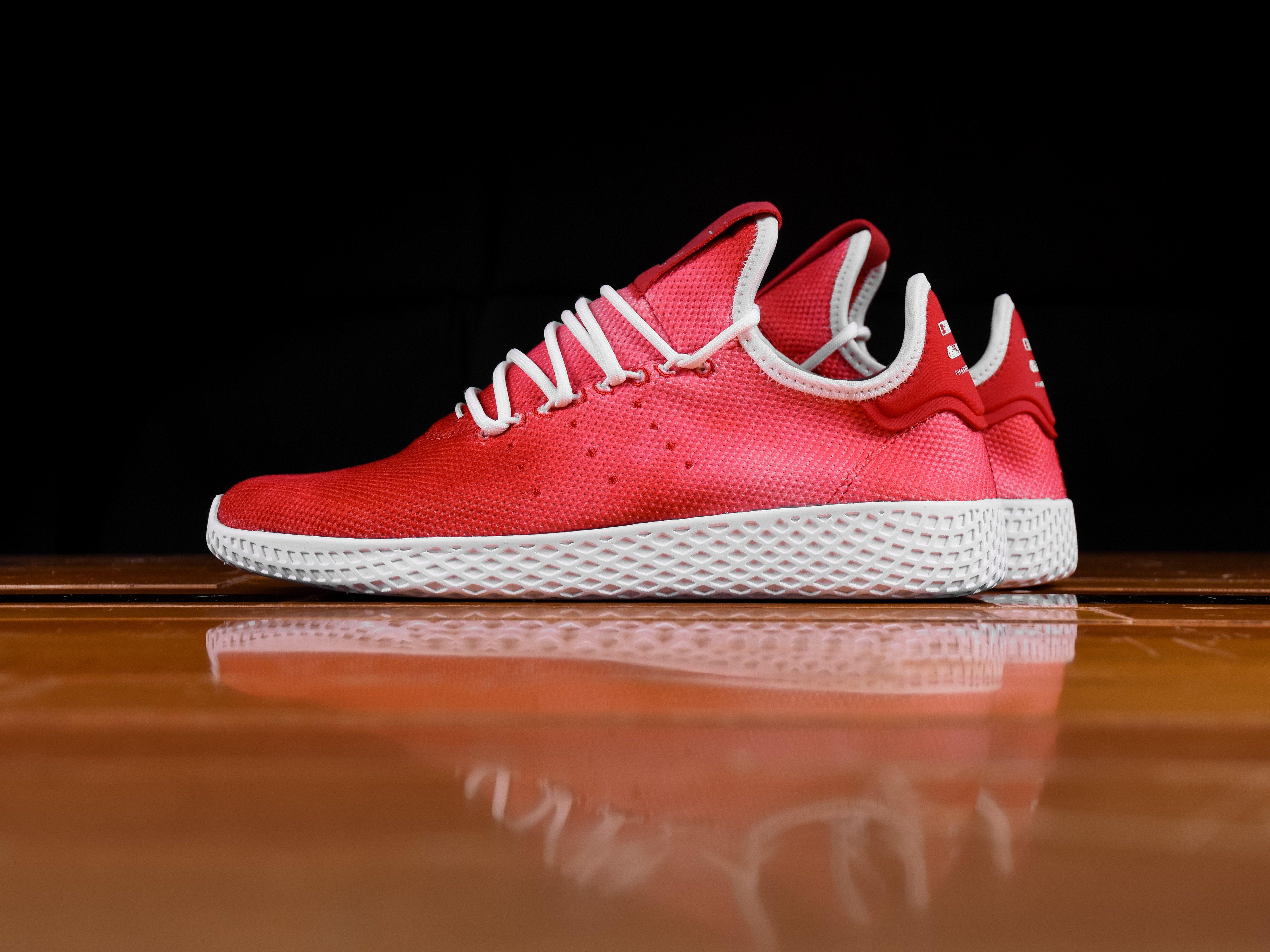 e7271a5d3f8cf Men s Pharrell Williams X Adidas Tennis HU Holi  Festival Red   DA9615