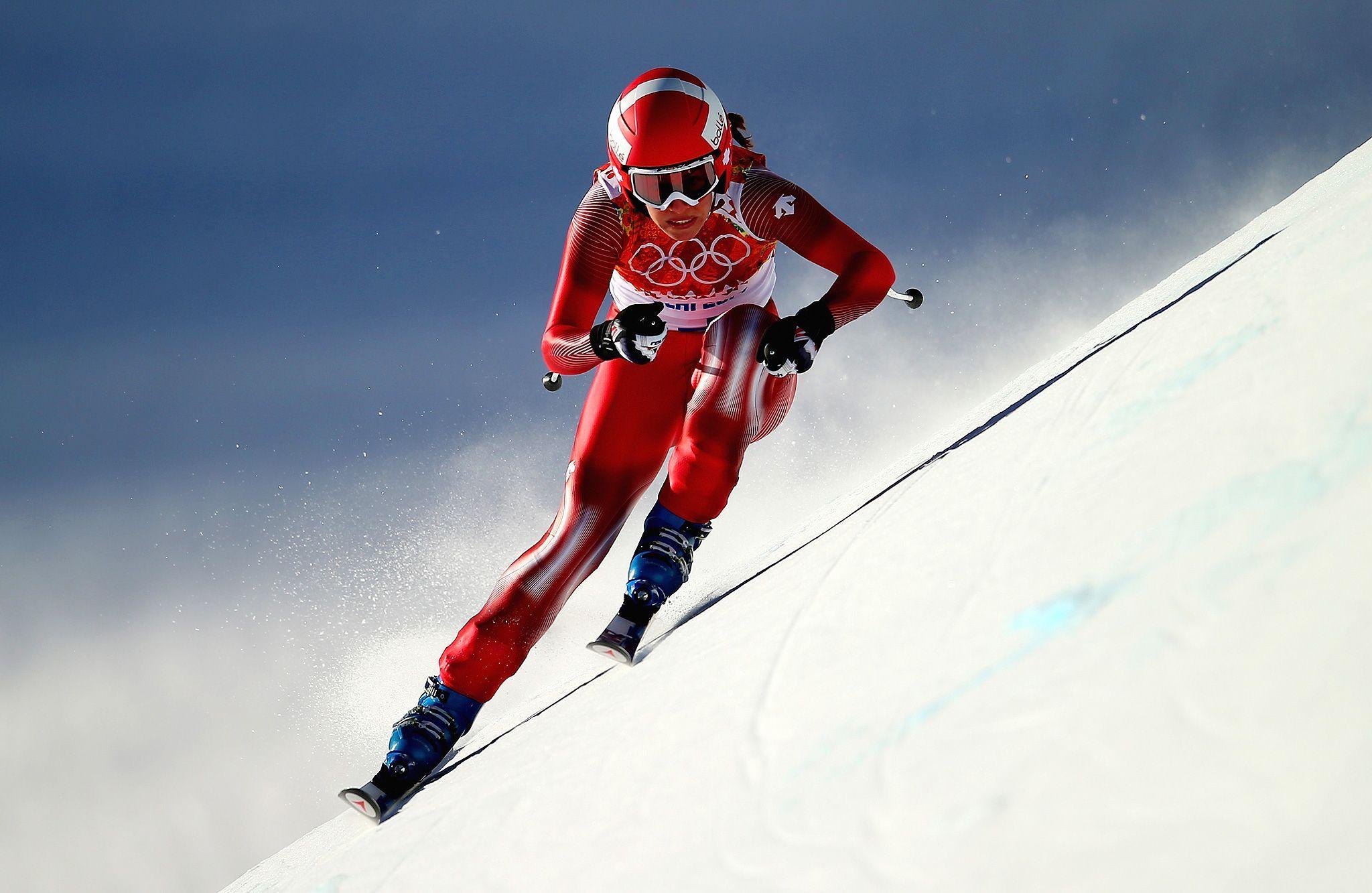 Sochi Olympics Day 6 Sochi, Alpine skiing, Ski racing