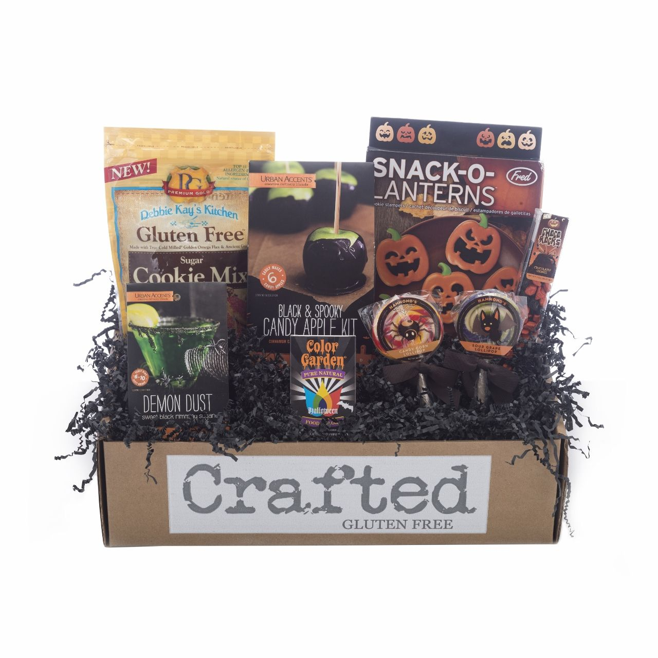 Gluten free halloween gift box available at