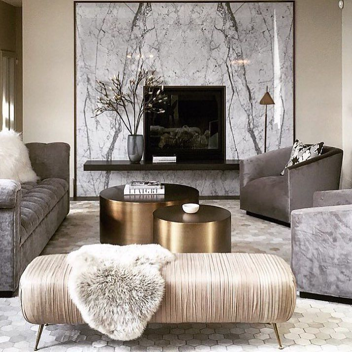 For Those Who Love Swoon Worthy Interiors With A Modern Glam Pov Elegant Living Room Living Room Designs Living Room Color Schemes