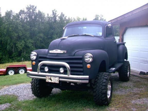 51 Chevy Truck 4x4 Camionetas Camiones Camioneta Pick Up
