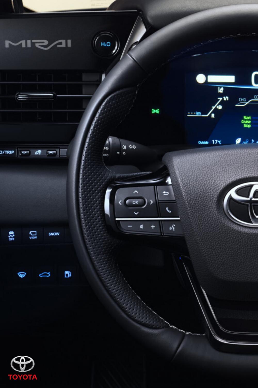 New Toyota Mirai Get behind the wheel in 2020 Hydrogen