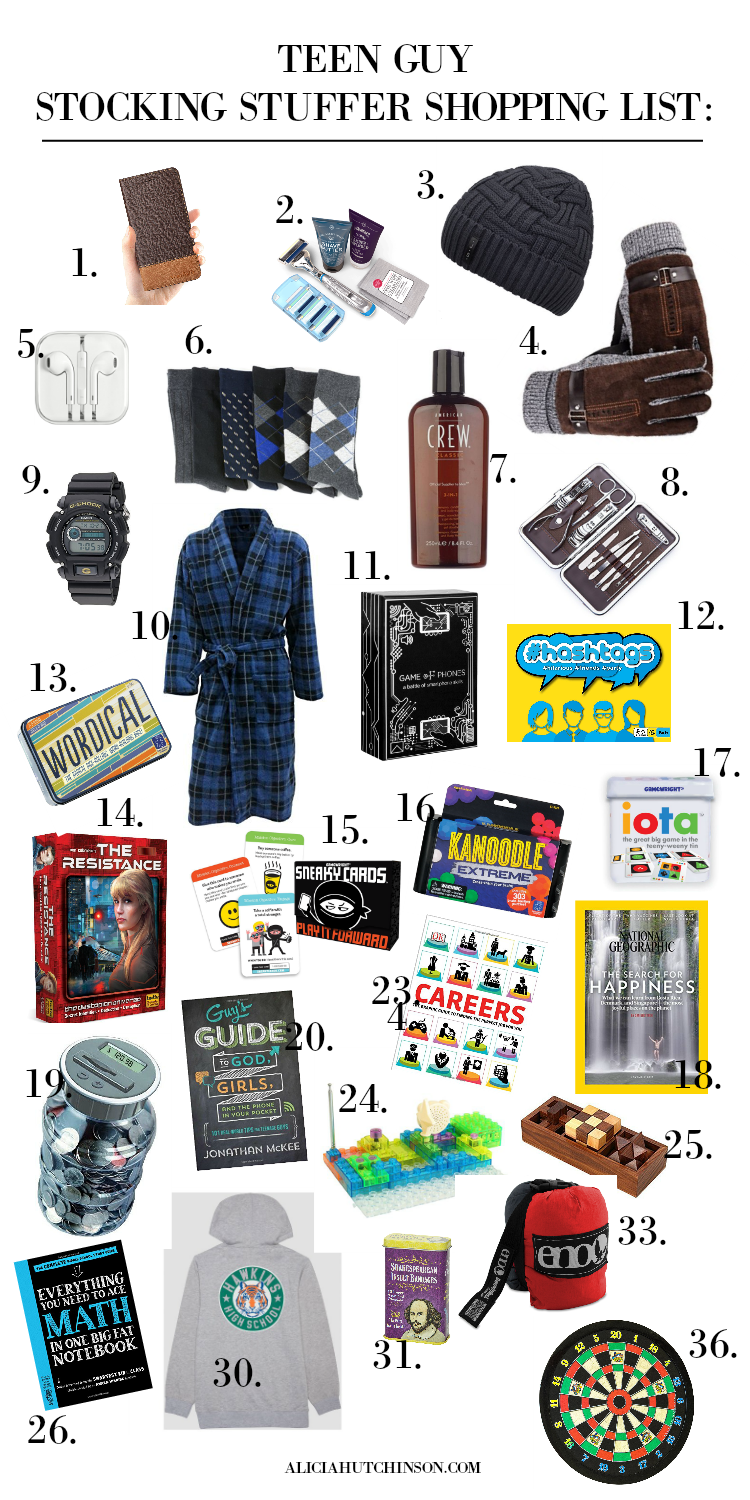 The Best 36 Gifts Your Teen Guy Will Love – Living Well + Learning Well