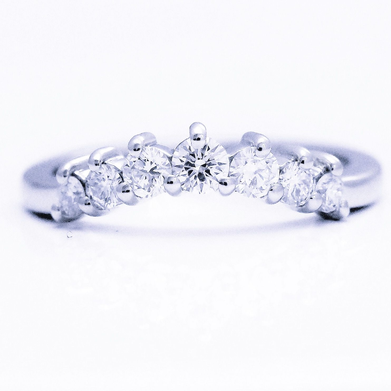Bespoke Fitted Diamond Claw Set Half Eternity Handmadejewellery Platinum Rock Jewelry Eternity Wedding Band Diamond Wedding Rings