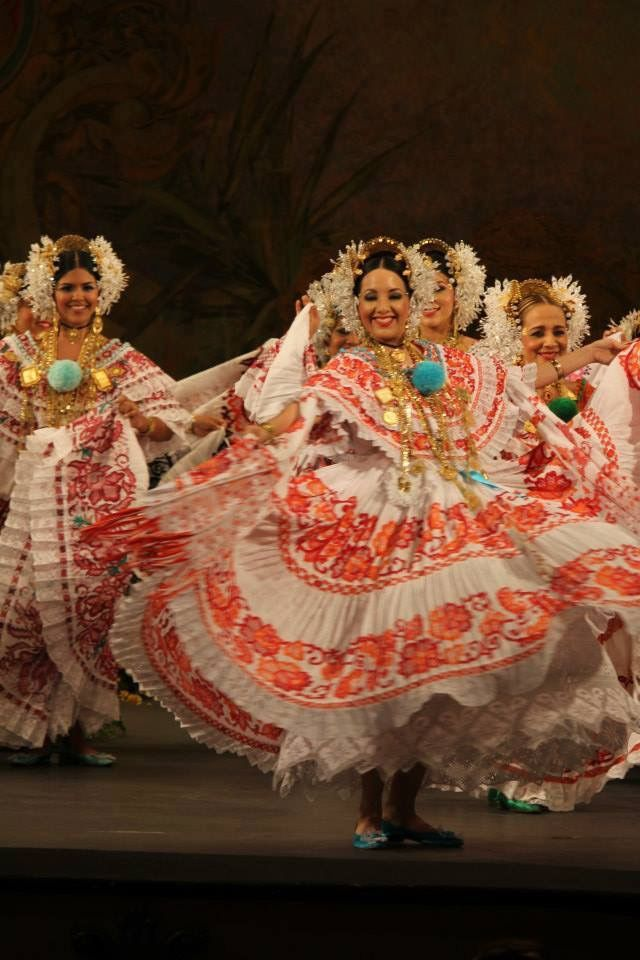 Cumbia y Polleras, Panama | Panama Culture | Pinterest ...