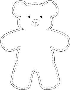 Sample Teddy Bear Template Wikihow