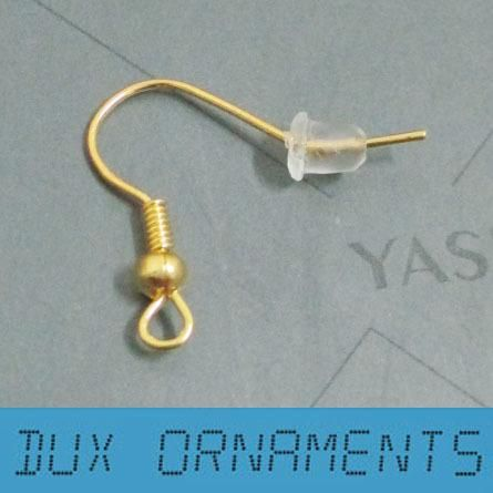 Whole 18 K Gold Plated Surgical Steel Hypo Allergenic Earring Hooks Findings Nickel Free