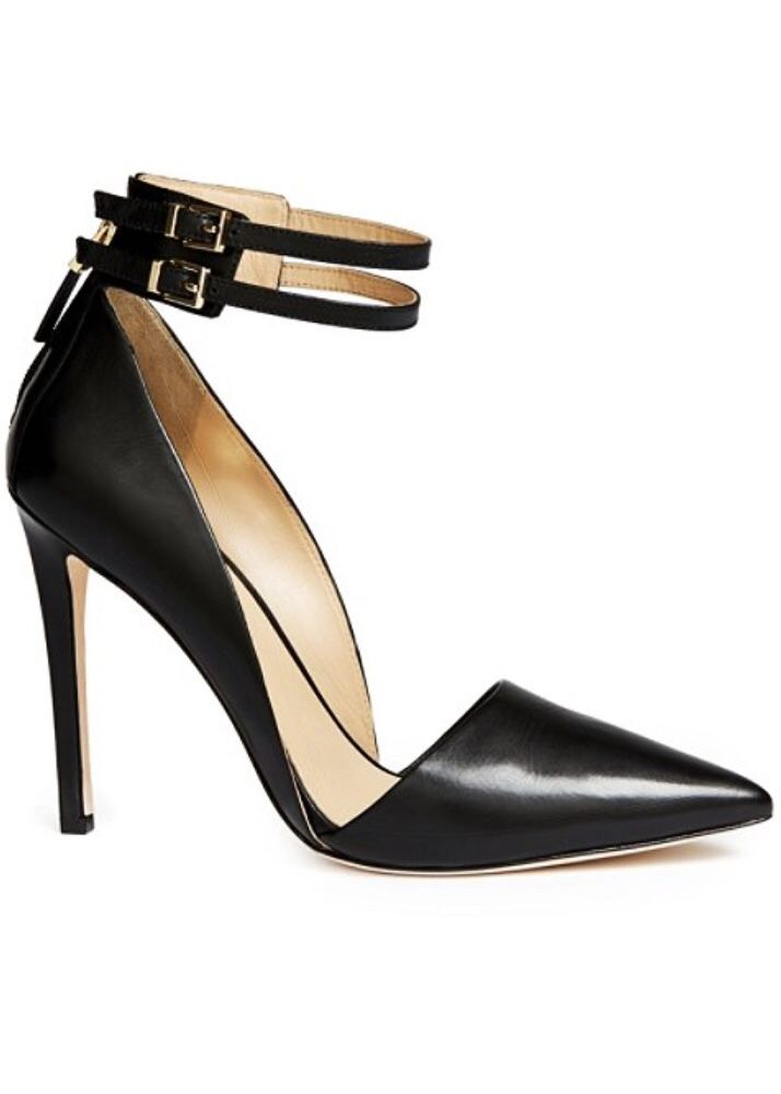 c07fa53c37 Black ankle strap pump by Guess | Heels, pumps and shoes | Shoes ...