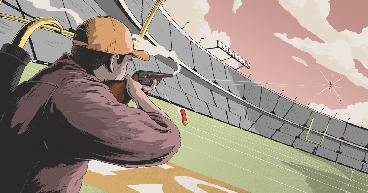 Shotguns How to Make a 100Yard Shot Football field