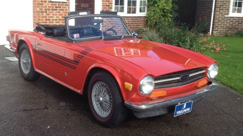 eBay watch: 1970s Triumph TR6 convertible car | Virág kert