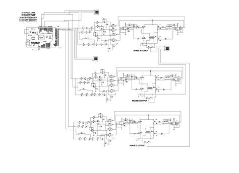 microcontroller based inverter circuit diagram of house wiring three phase sine wave using arduino power