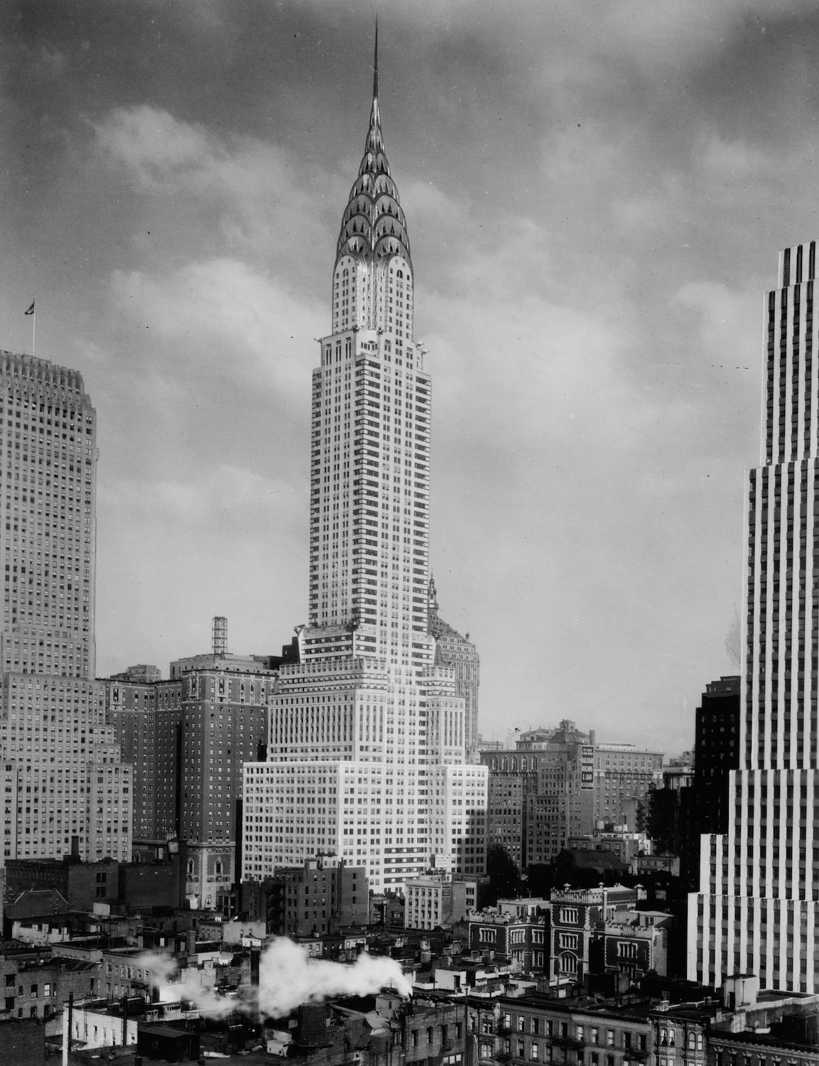 Chrysler Building And Midtown 1930 Http Nycpast Tumblr Com