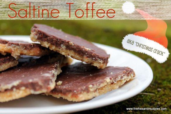 Saltine Toffee | Fireflies and Mud Pies