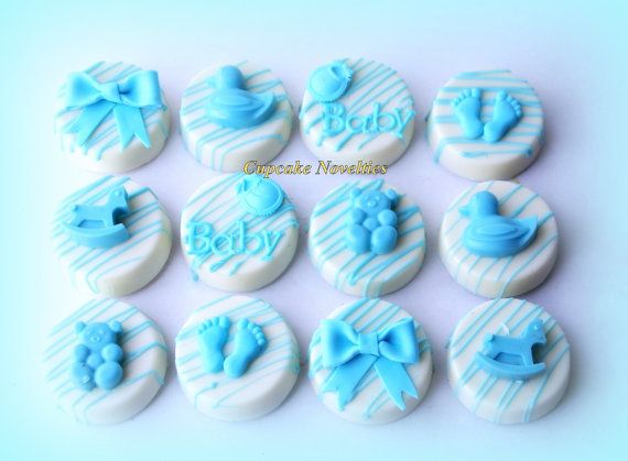Baby Shower Cookies Boy Baby Girl Baby Things Chocolate Oreos Gender
