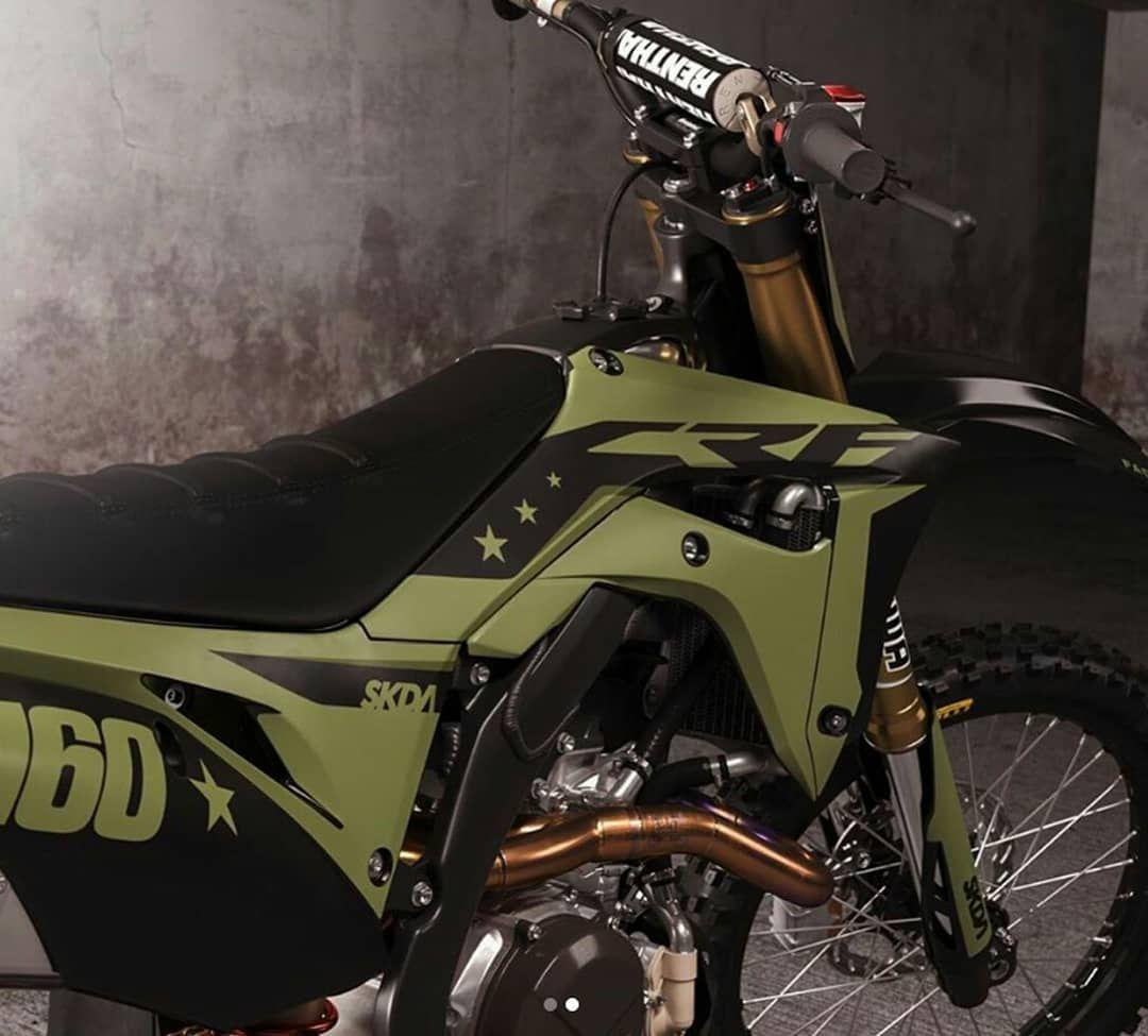 Gambar Mungkin Berisi Sepeda Motor Motorcross Bike Yamaha Dirt Bikes Cool Dirt Bikes