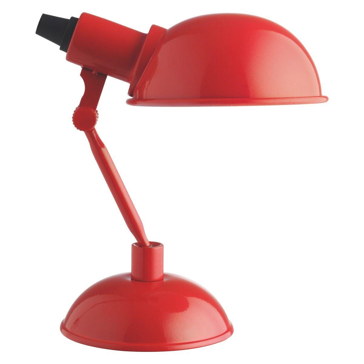Tommy Red Metal Desk Lamp Now At Habitat Uk