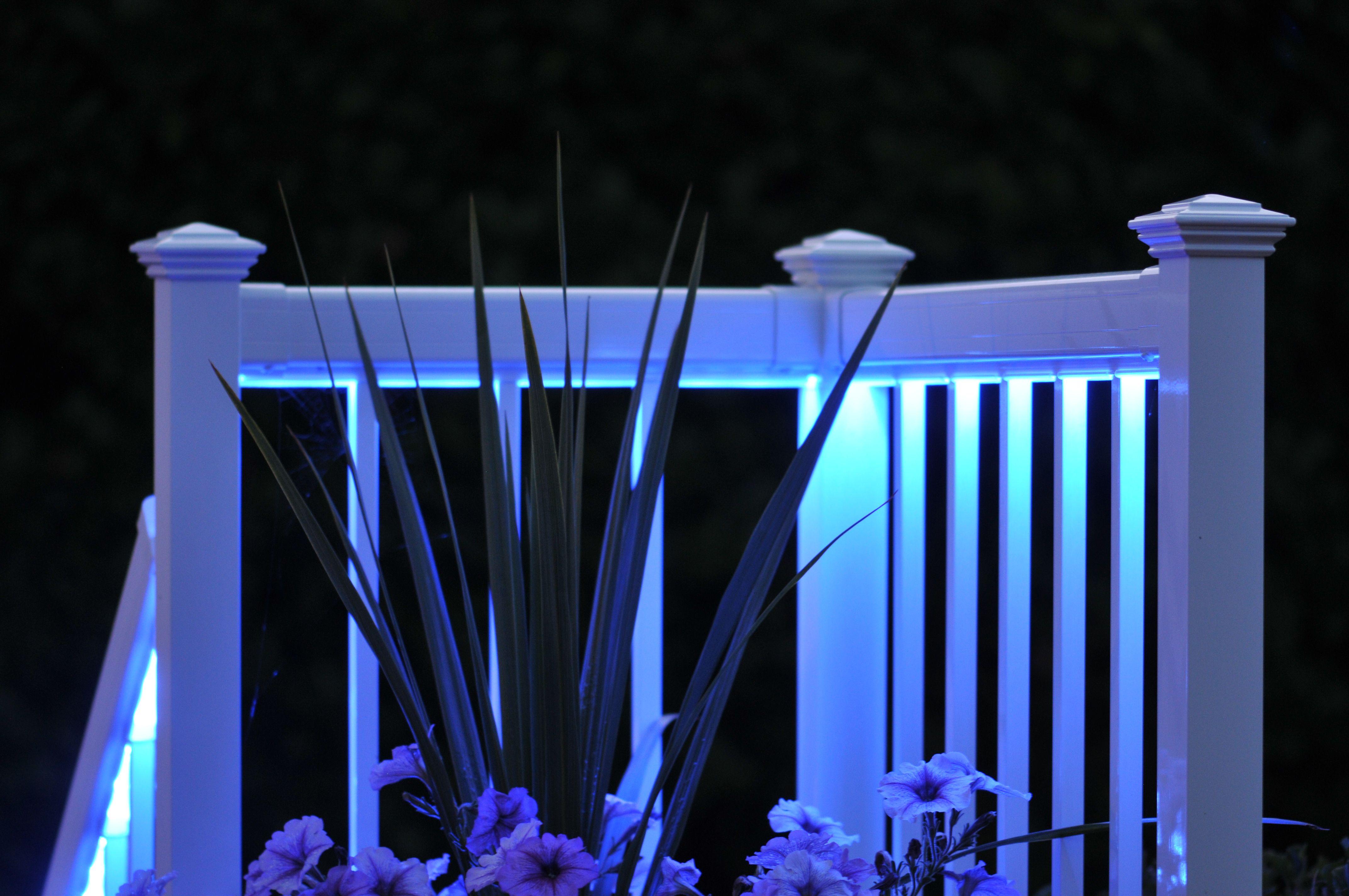 regal ideas led lit railing system regalideas lighting