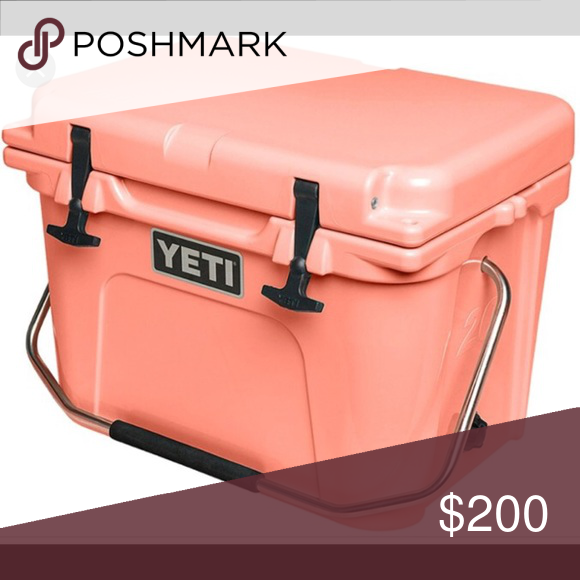 Yeti Roadie 20 Limited Edition Coral Roadie 20 Used 3 Times Still In Brand New Condition Yeti Other Yeti Roadie Yeti Yeti Coolers Ideas
