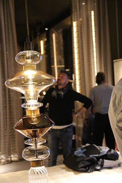 Ballet lamp designed for sicis next art by massimiliano raggi architetto