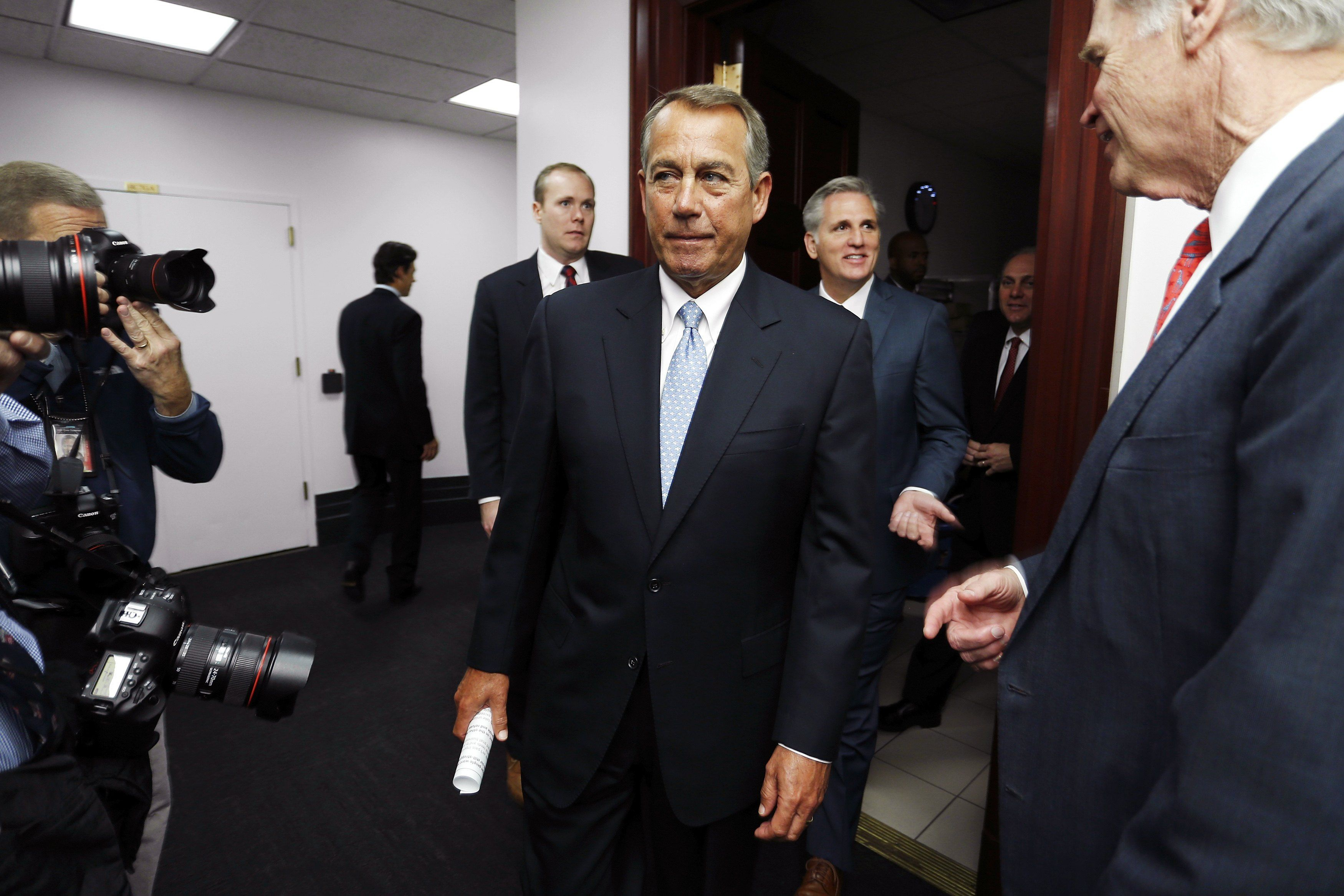 The GOP gives up the immigration fight Loud bark, no bite: The GOP gives up the immigration fight  http://www.washingtonpost.com/opinions/dana-milbank-the-gops-symbolic-fight-against-immigration-action/2014/12/02/a0a5d816-7a5b-11e4-9a27-6fdbc612bff8_story.html?hpid=z5