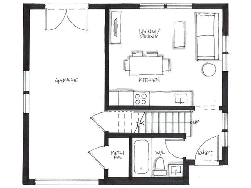 Smallworks custom small homes laneway houses in vancouver smallworks custom small homes laneway houses in vancouver design and floor plan for edwardian malvernweather Choice Image