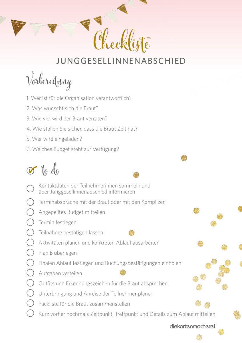 Junggesellinnenabschied: 30 Ideen für jeden Brauttyp | Pinterest ...