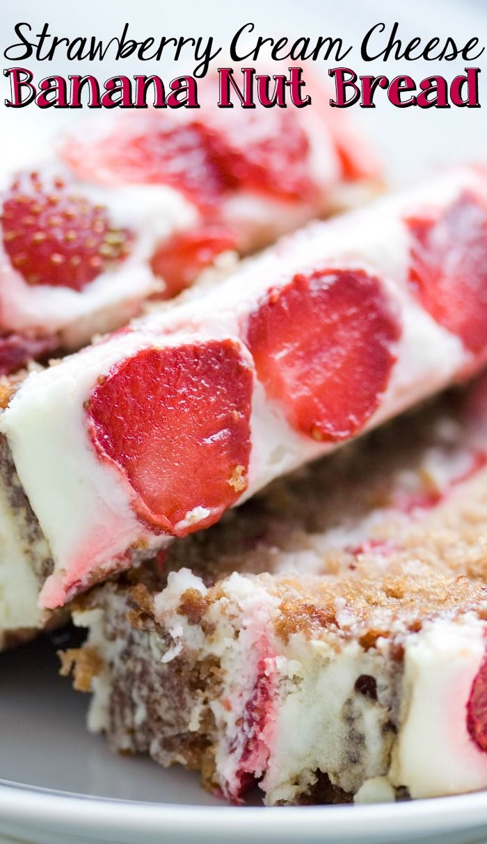 Check out strawberry cream cheese banana nut bread its so easy to check out strawberry cream cheese banana nut bread its so easy to make banana nut cream cheeses and bananas forumfinder Choice Image