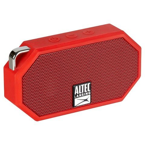 Altec Lansing Mini H20 Red Cool Little Waterproof Bluetooth