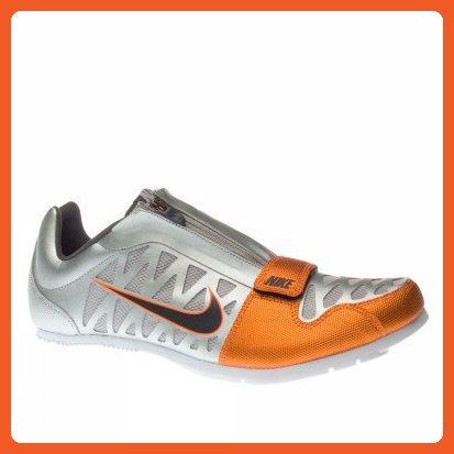 98841236cb5ed Nike Men's Zoom LJ 4 Silver/Orange Shoes 8.5 M - Athletic shoes for ...