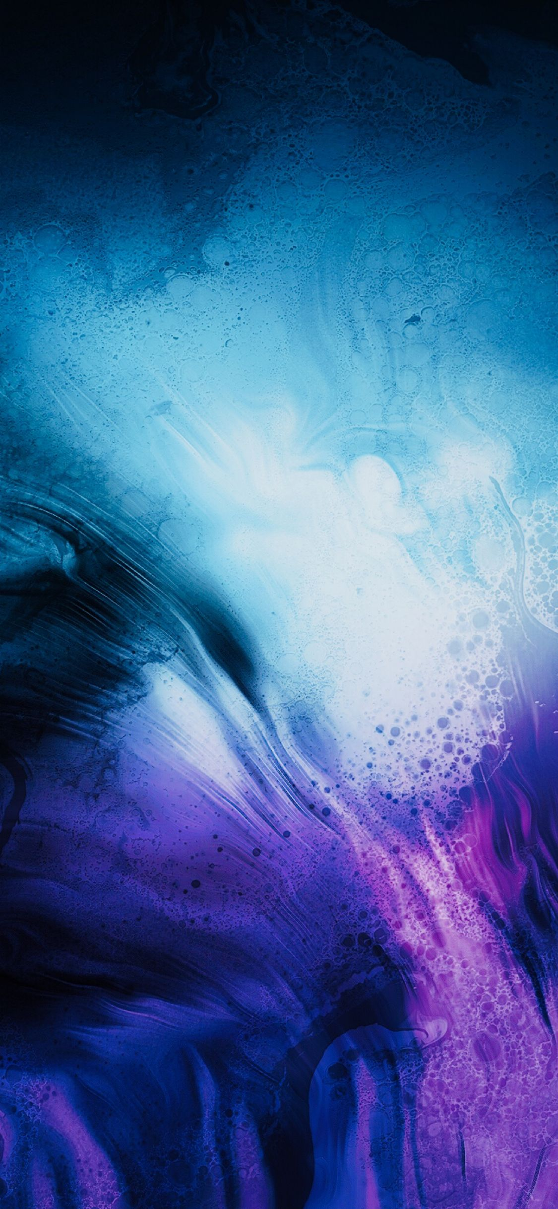 A blend of blue and purple | Amazing | Fundos iphone, Papeis de parede, Planos de fundo